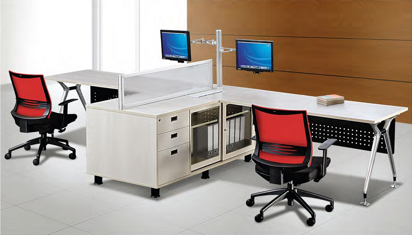 Office Furniture Singapore Abies Working Table Set Workstation
