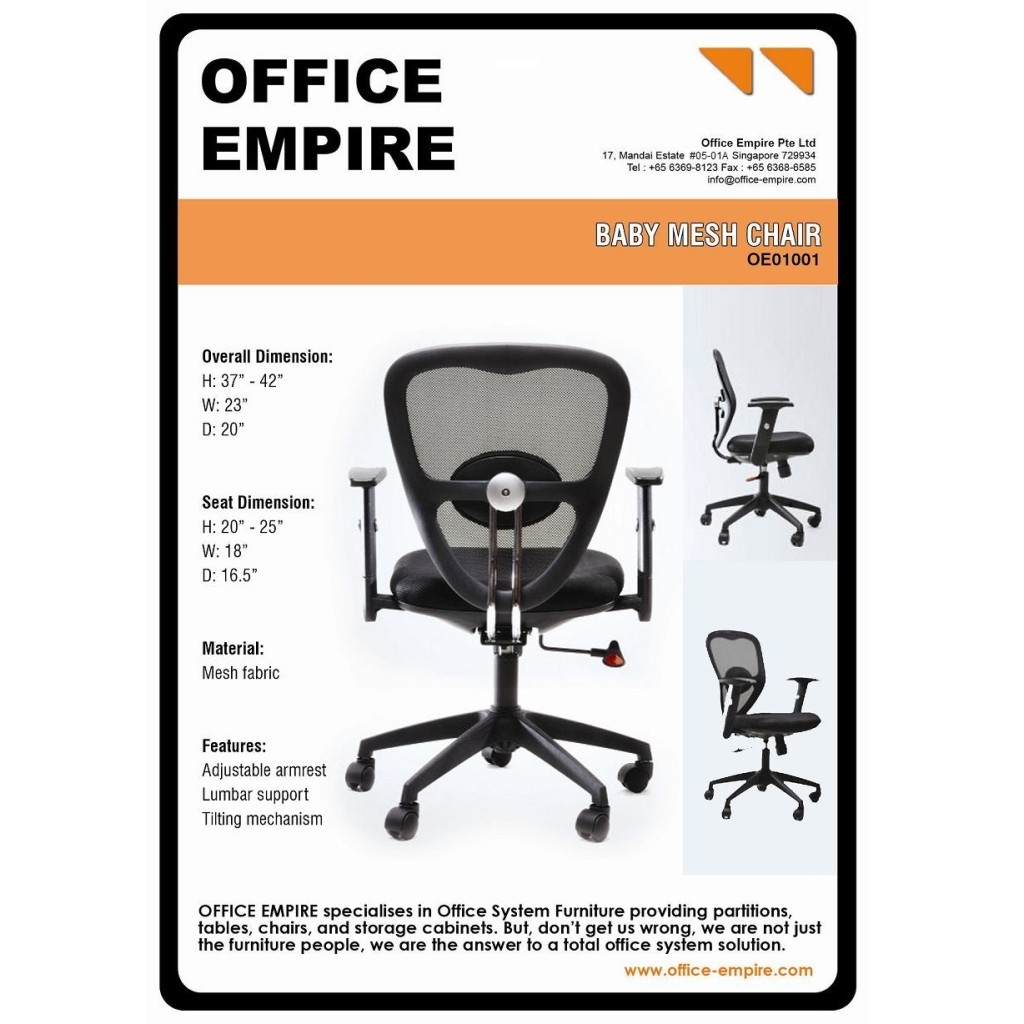 office furniture singapore office chairs singapore oe01001