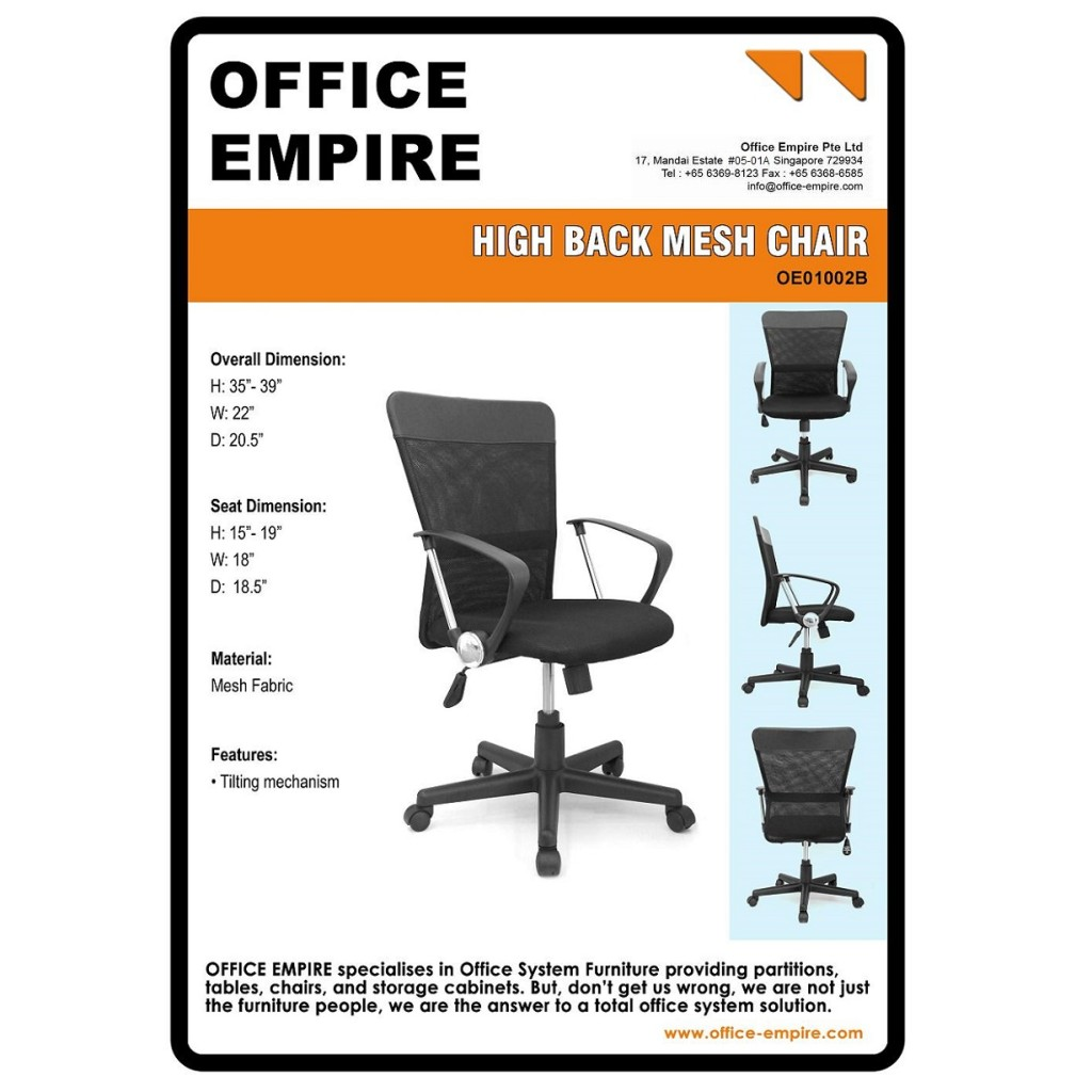 Office Chairs Singapore Stylish And Durable Office