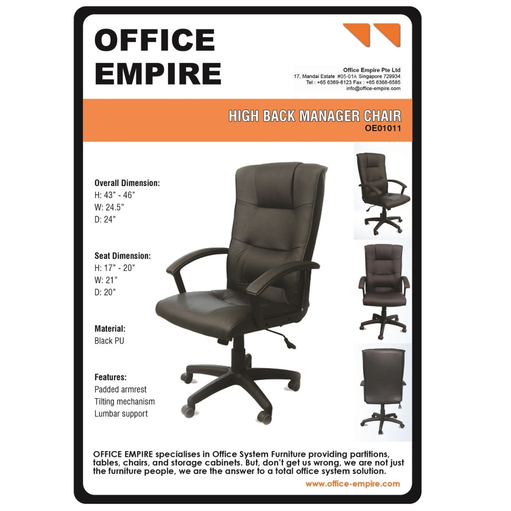 office furniture singapore office chairs singapore oe01011