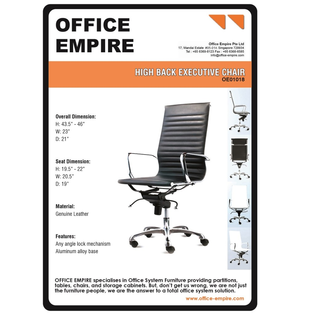 Designer Office Chair office furniture singapore office chairs singapore oe01018