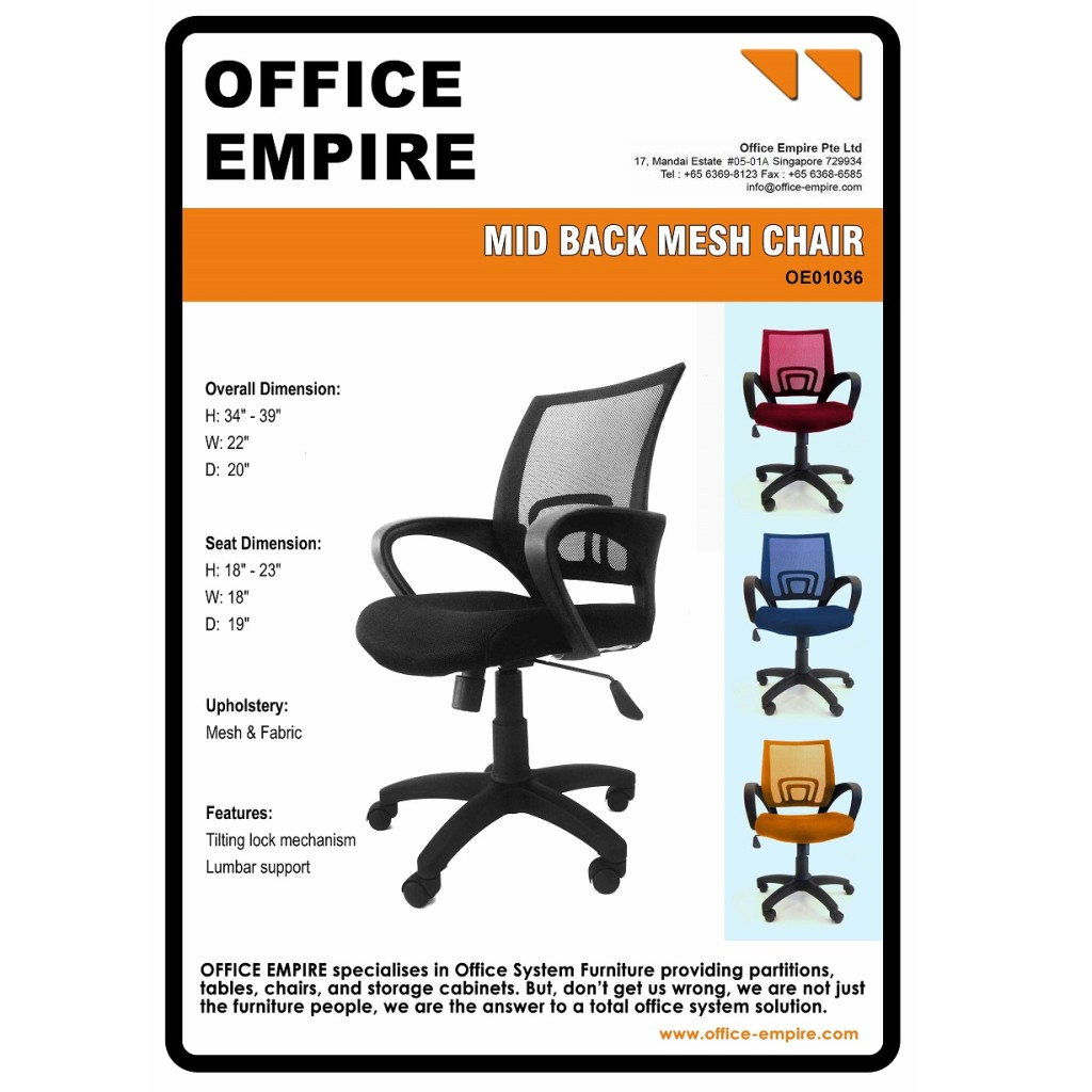 office furniture singapore office chairs singapore oe01036