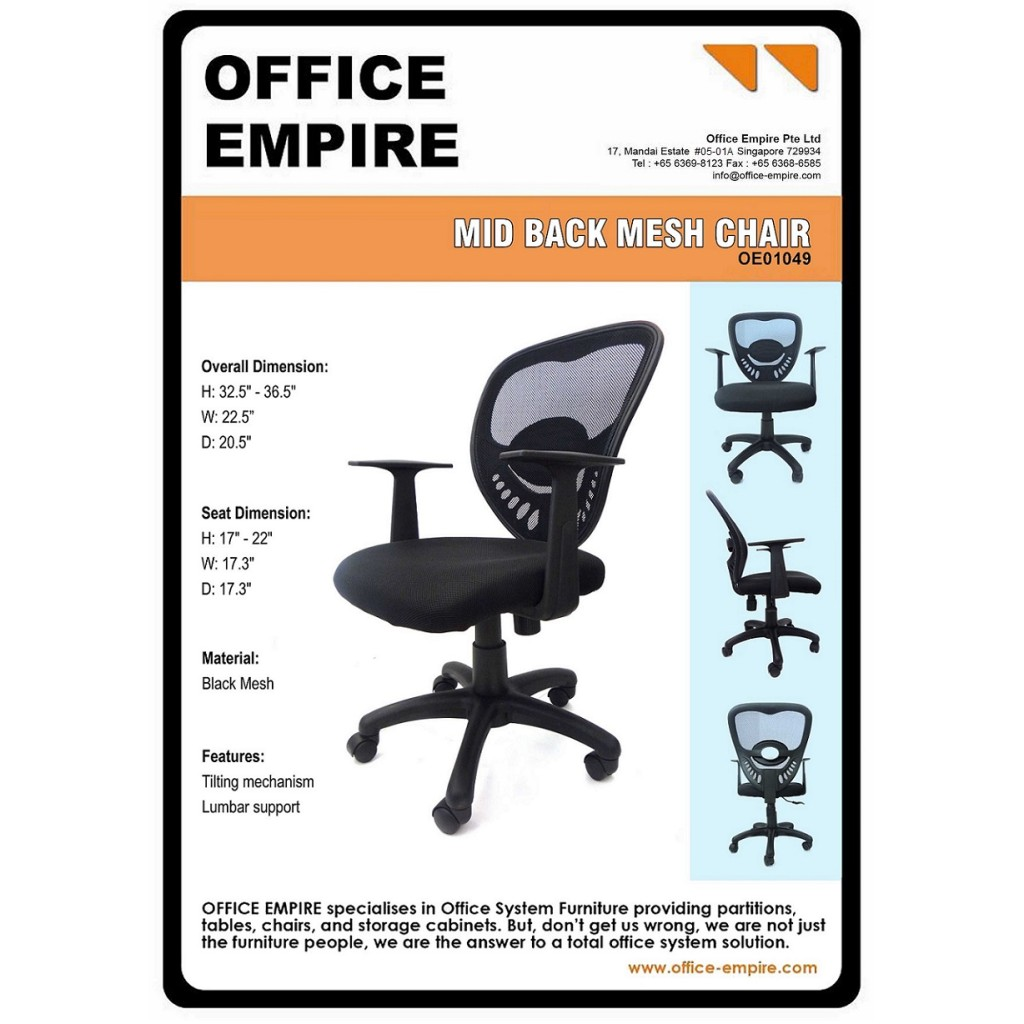 office furniture singapore office chairs singapore oe01049