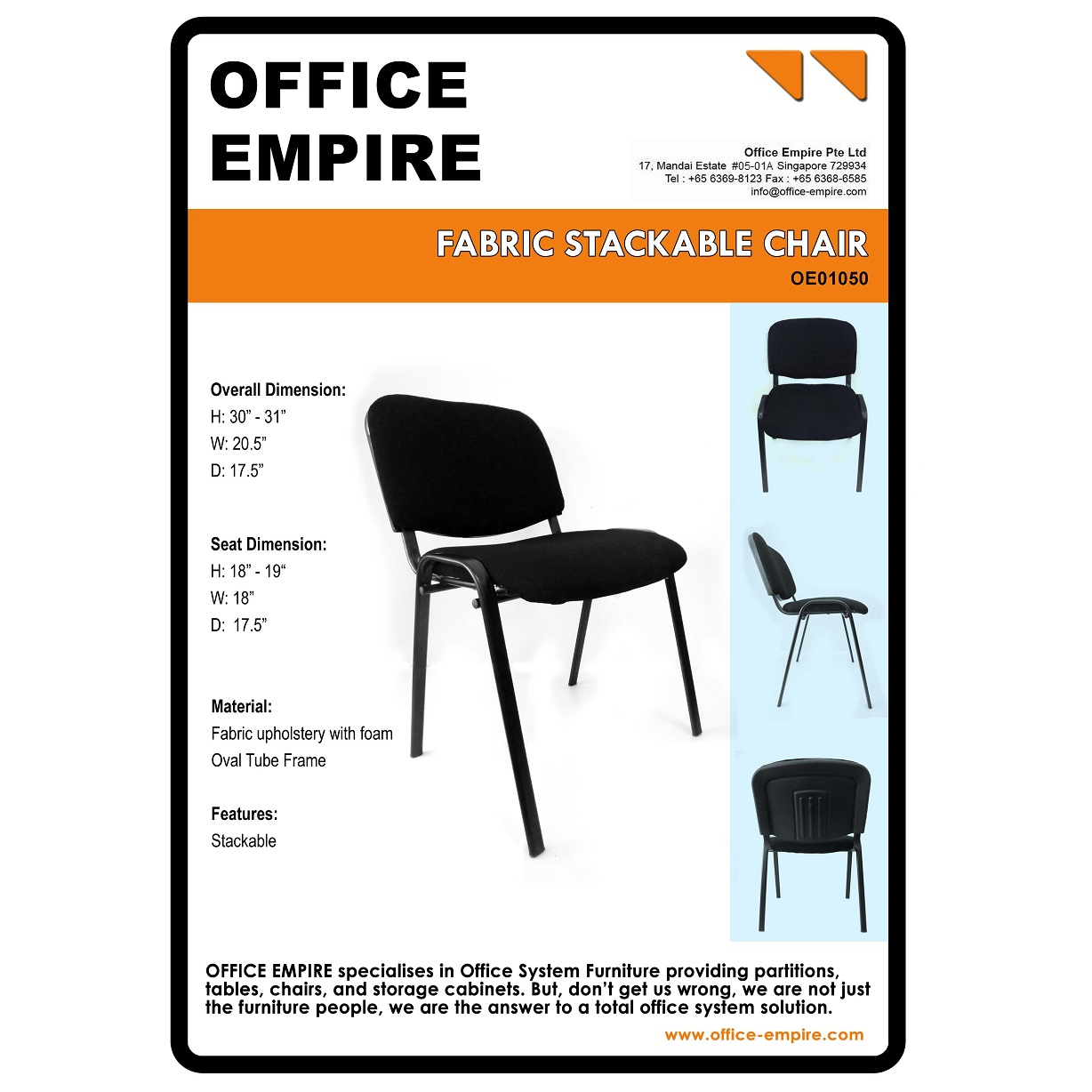 Office Furniture Singapore Office Chairs Singapore Oe01050 Office Renovation Singapore And