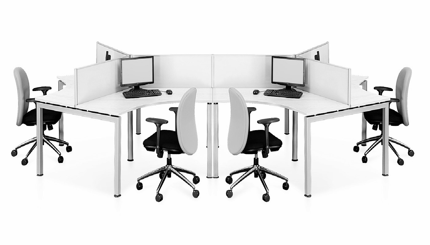 office furniture singapore office partition 28mm Office Cubicle 17 (2)