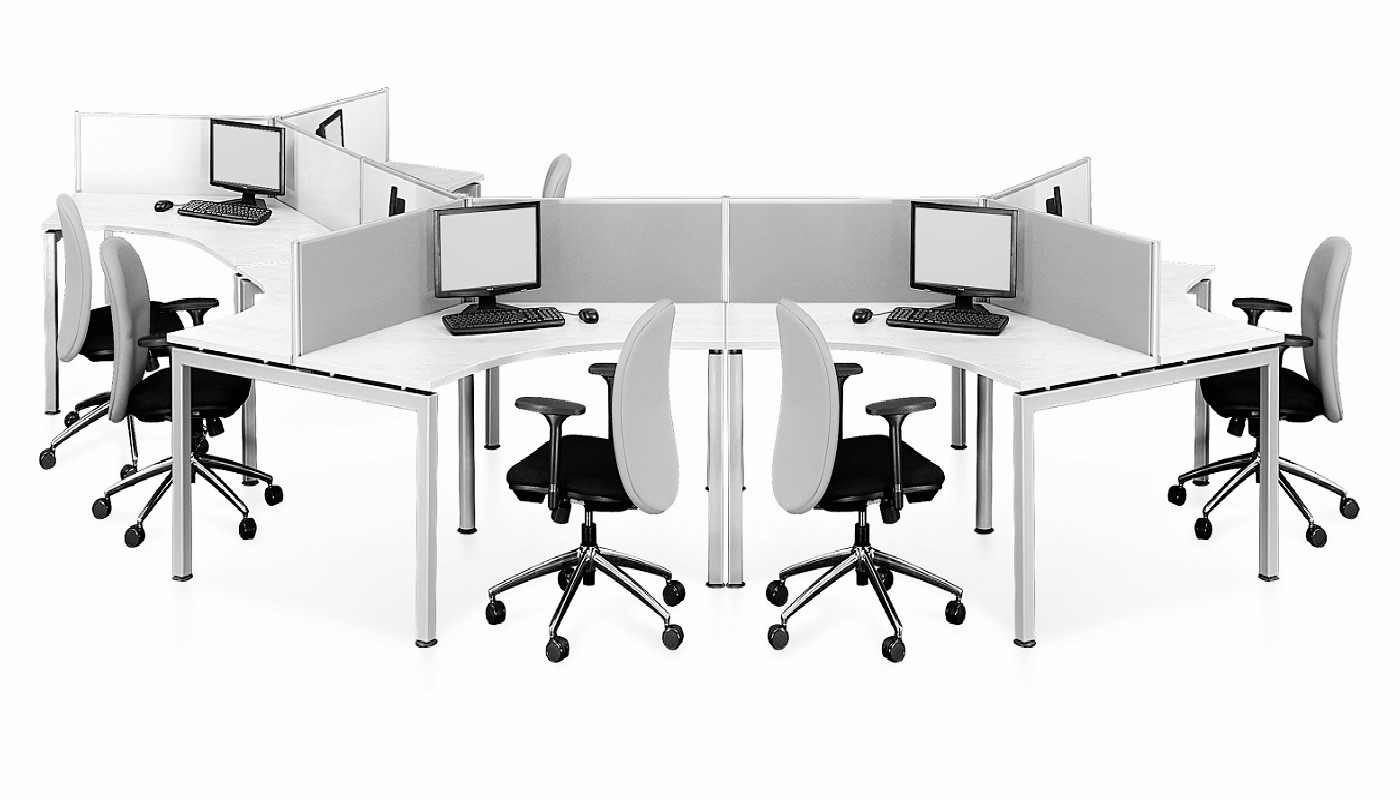 office furniture singapore office partition 28mm Office Cubicle 18 (2)