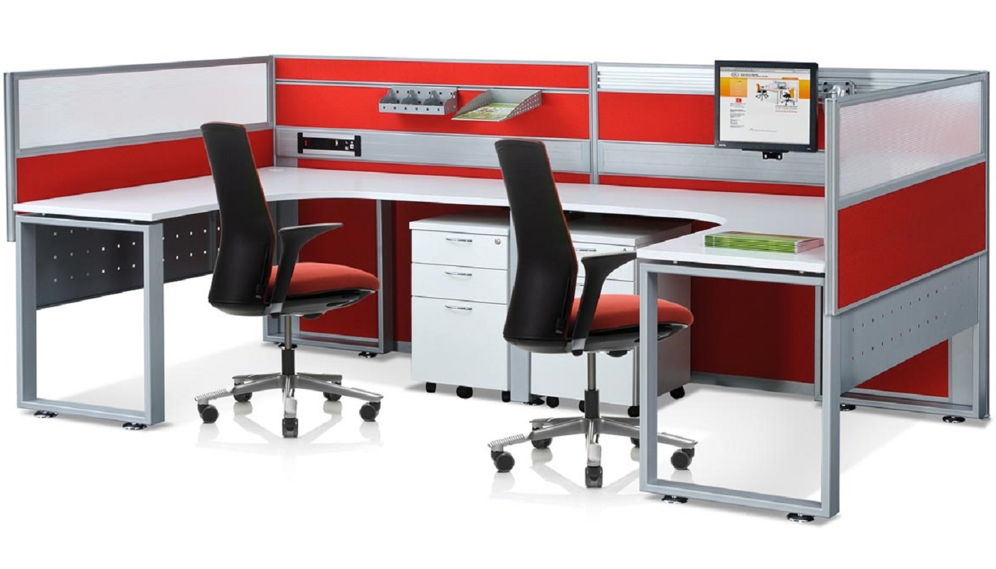 office furniture singapore office partition 28mm Office Cubicle 24