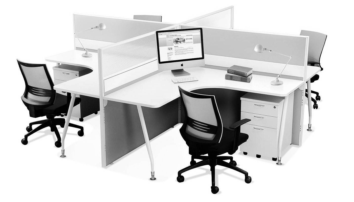 office furniture singapore office partition 28mm Office Cubicle 27 (2)