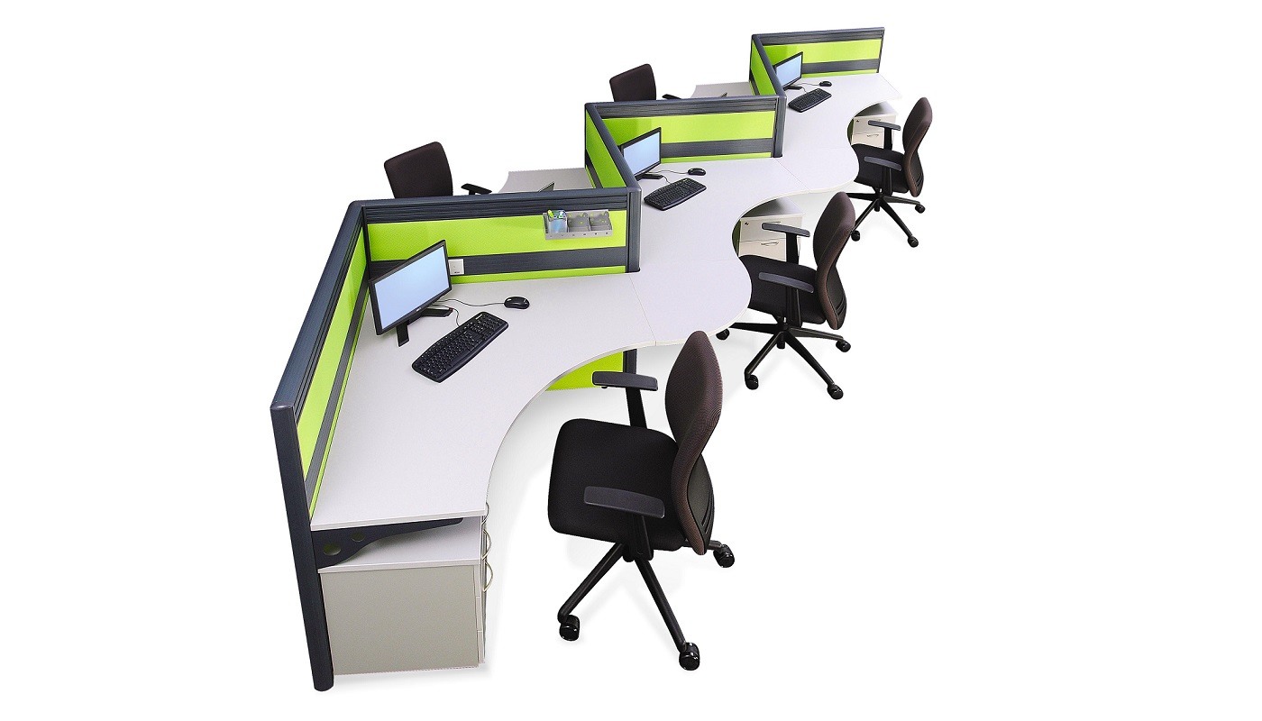 office furniture singapore office partition 28mm Office Cubicle 33