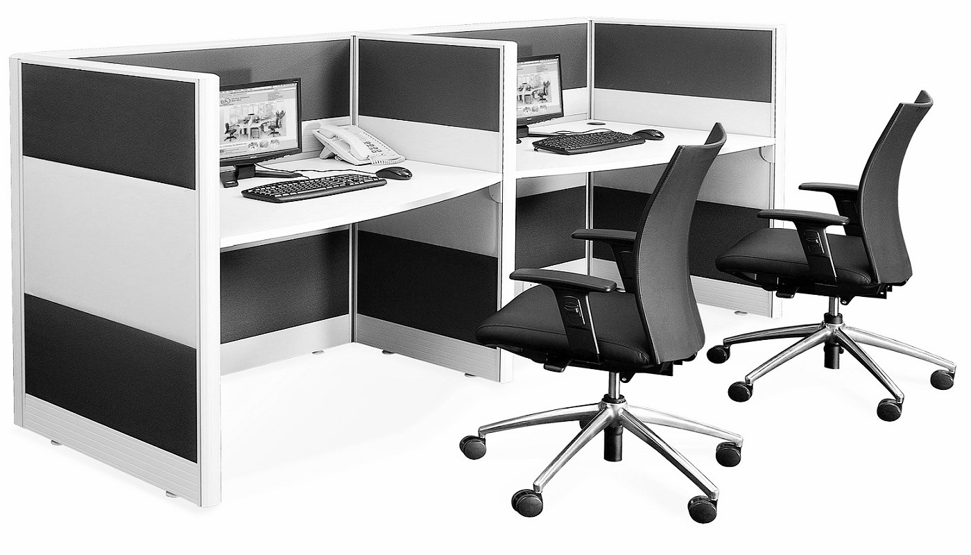 office furniture singapore office partition 28mm Office Cubicle 35 (2)