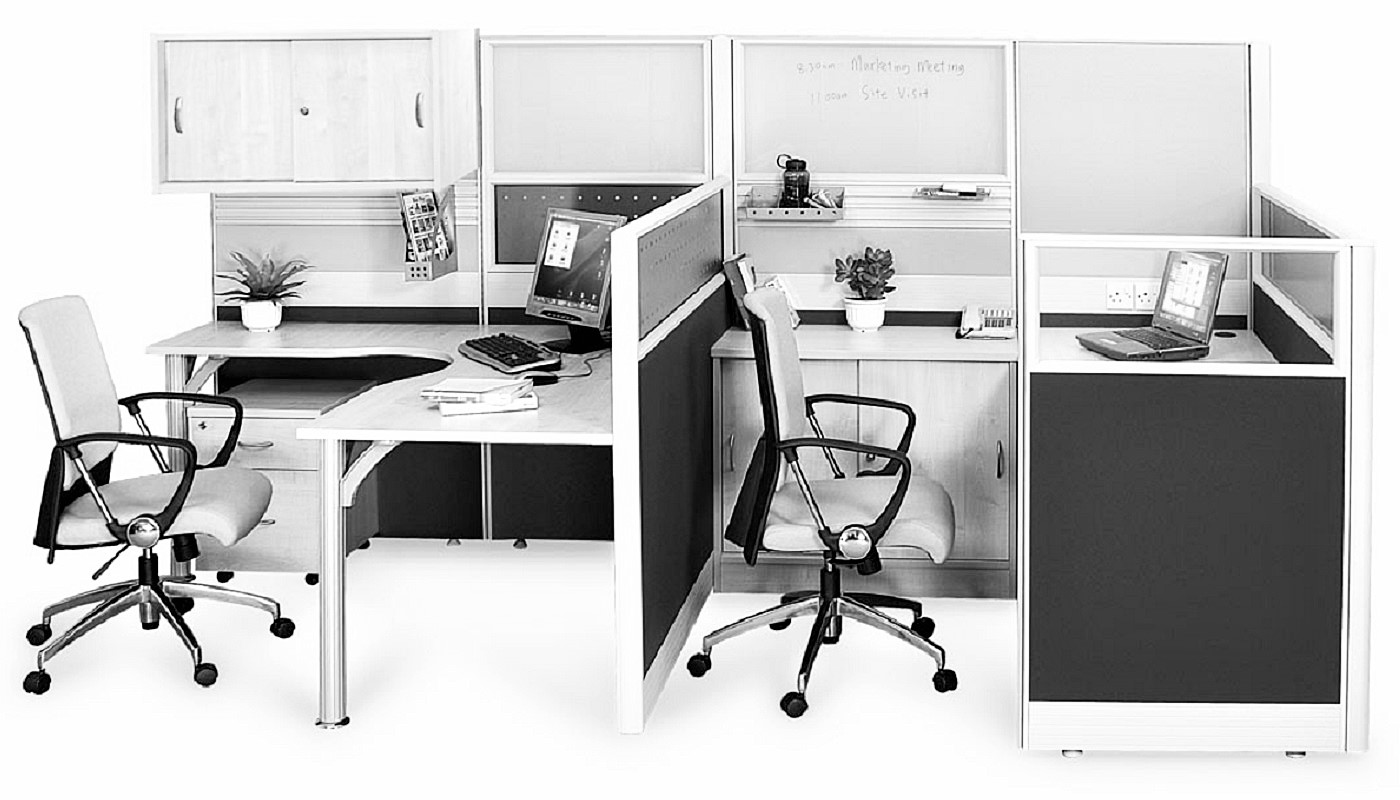 office furniture singapore office partition 28mm Office Cubicle 38 (2)
