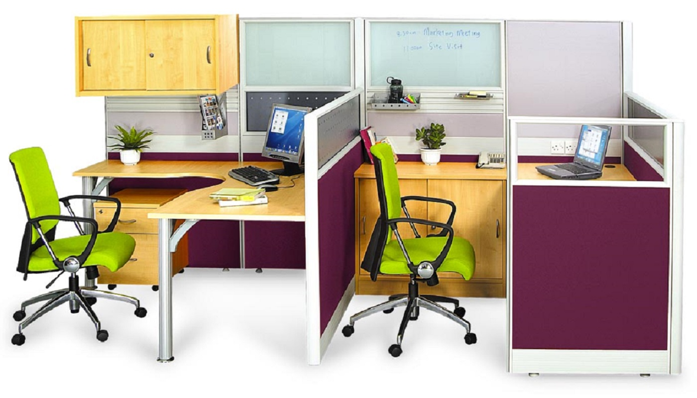 office furniture singapore office partition 28mm Office Cubicle 38