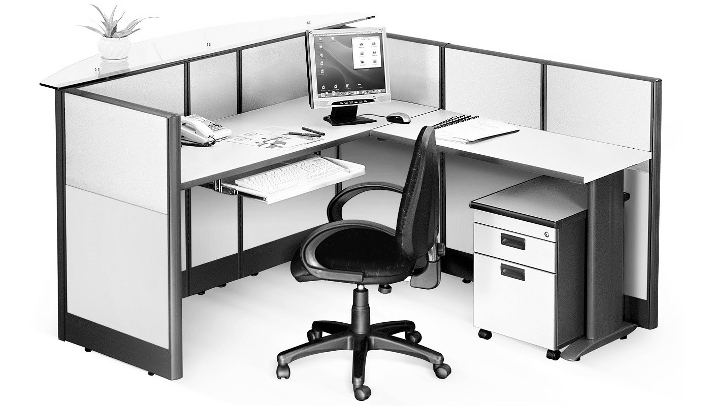 office furniture singapore office partition 28mm Office Cubicle 40 (2)