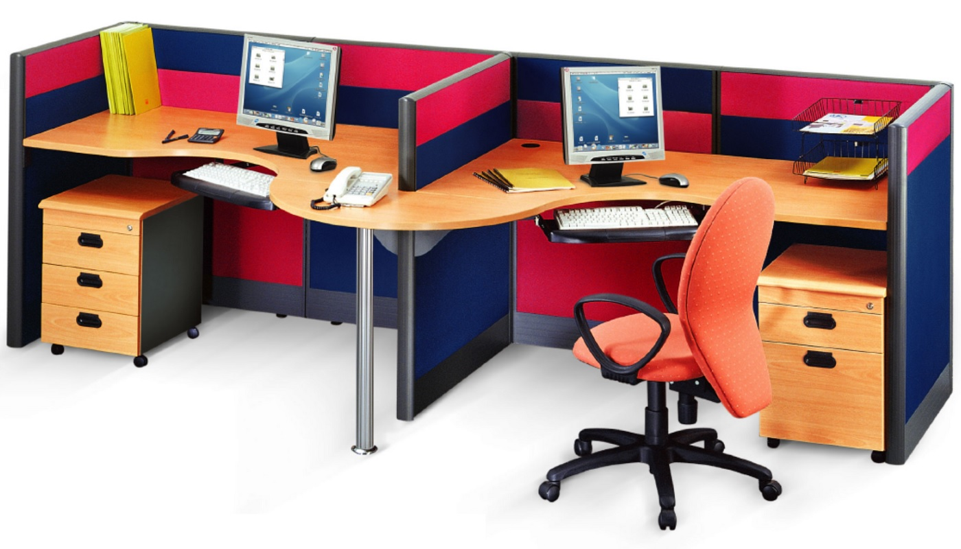 office furniture singapore office partition 28mm Office Cubicle 40