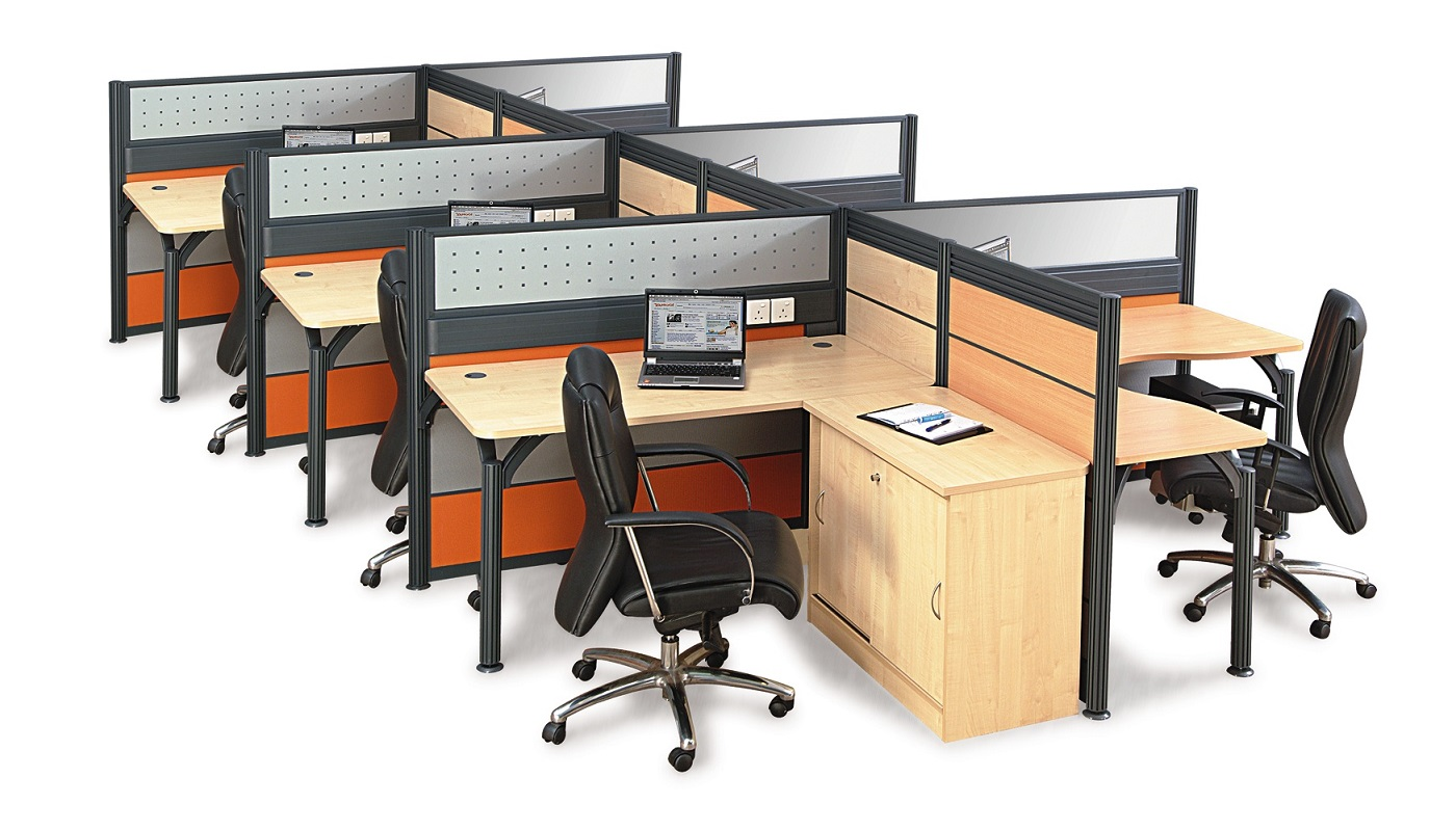 office furniture singapore office partition 28mm Office Cubicle 48