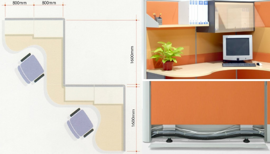 office furniture singapore office partition office system 2