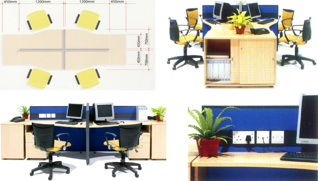 office furniture singapore office partition office workstation 2