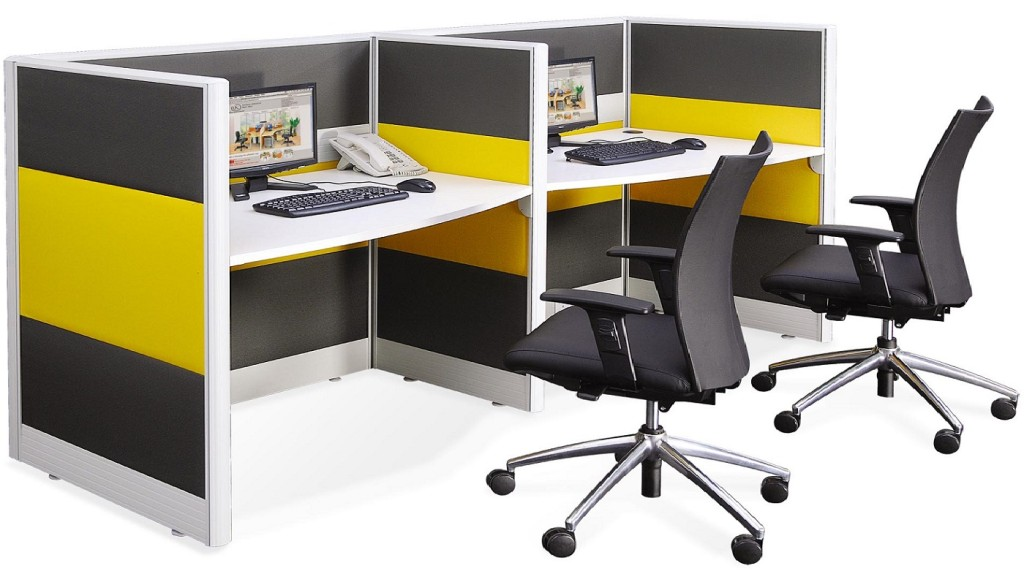 60mm thick office system partition panels call centre office layout