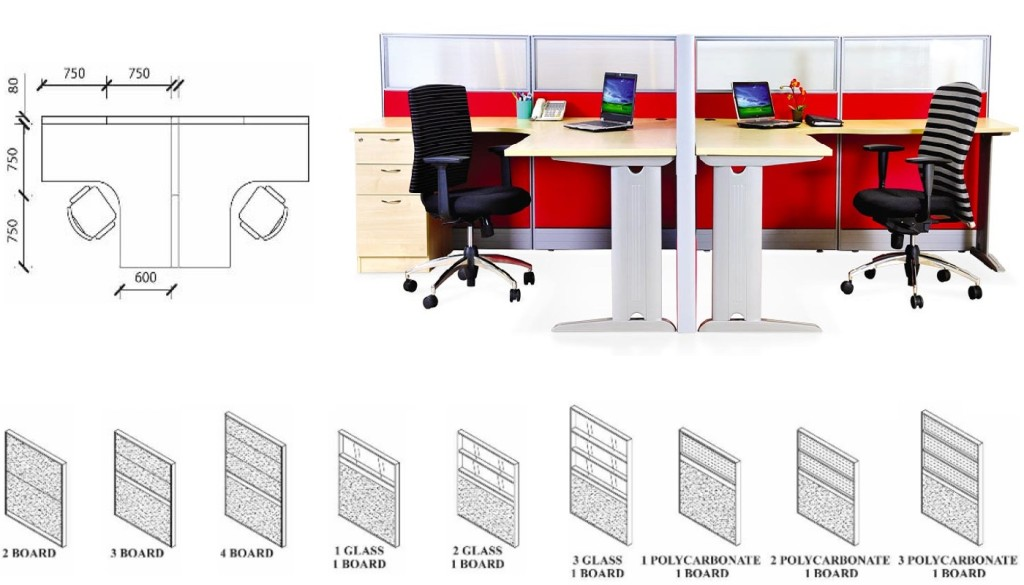 Wood Office Furniture office furniture singapore office partition workstation desk singapore 2