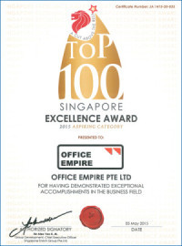 Office Renovation Singapore Award