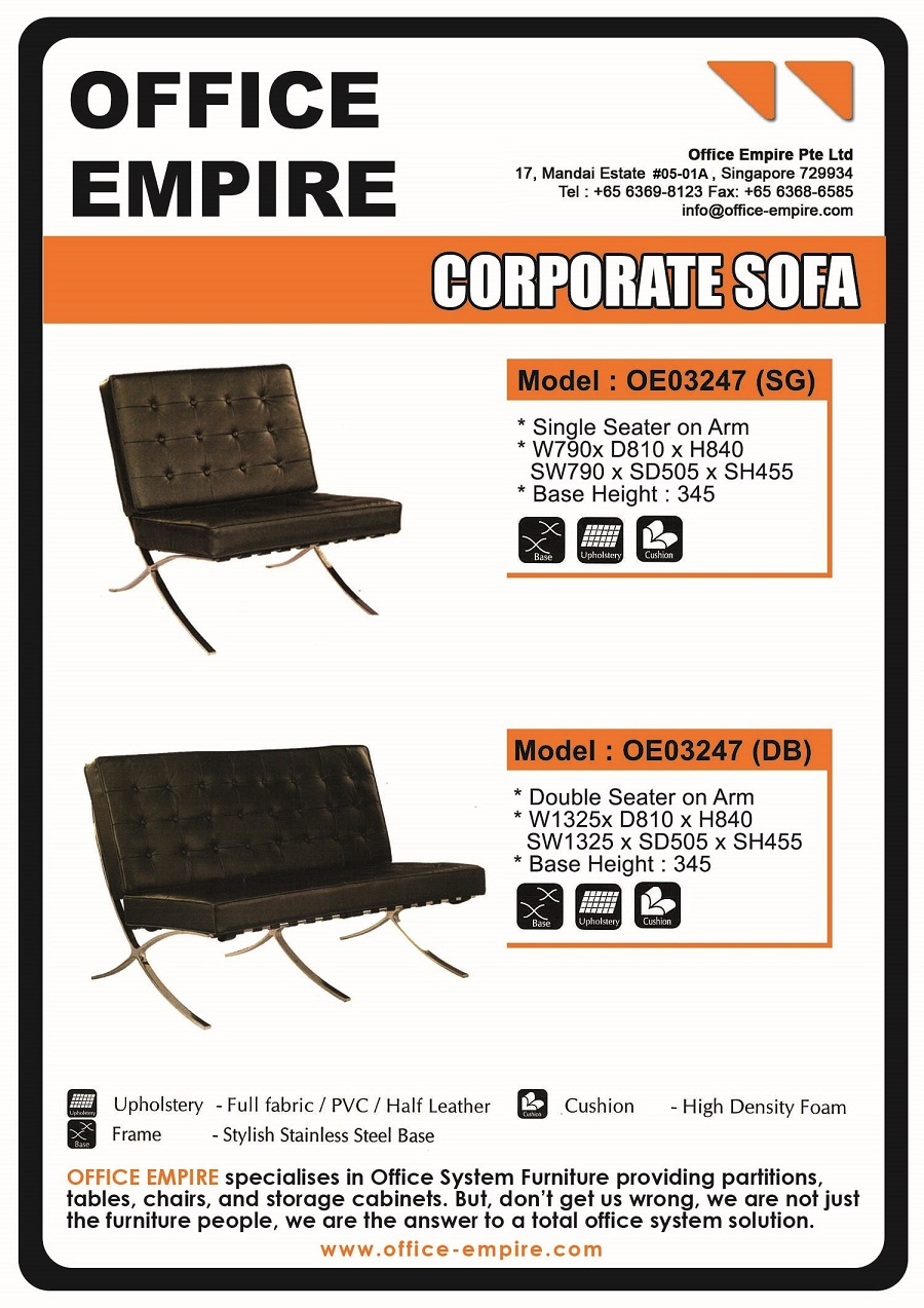Office Sofa Singapore Corporate Sofa For Office
