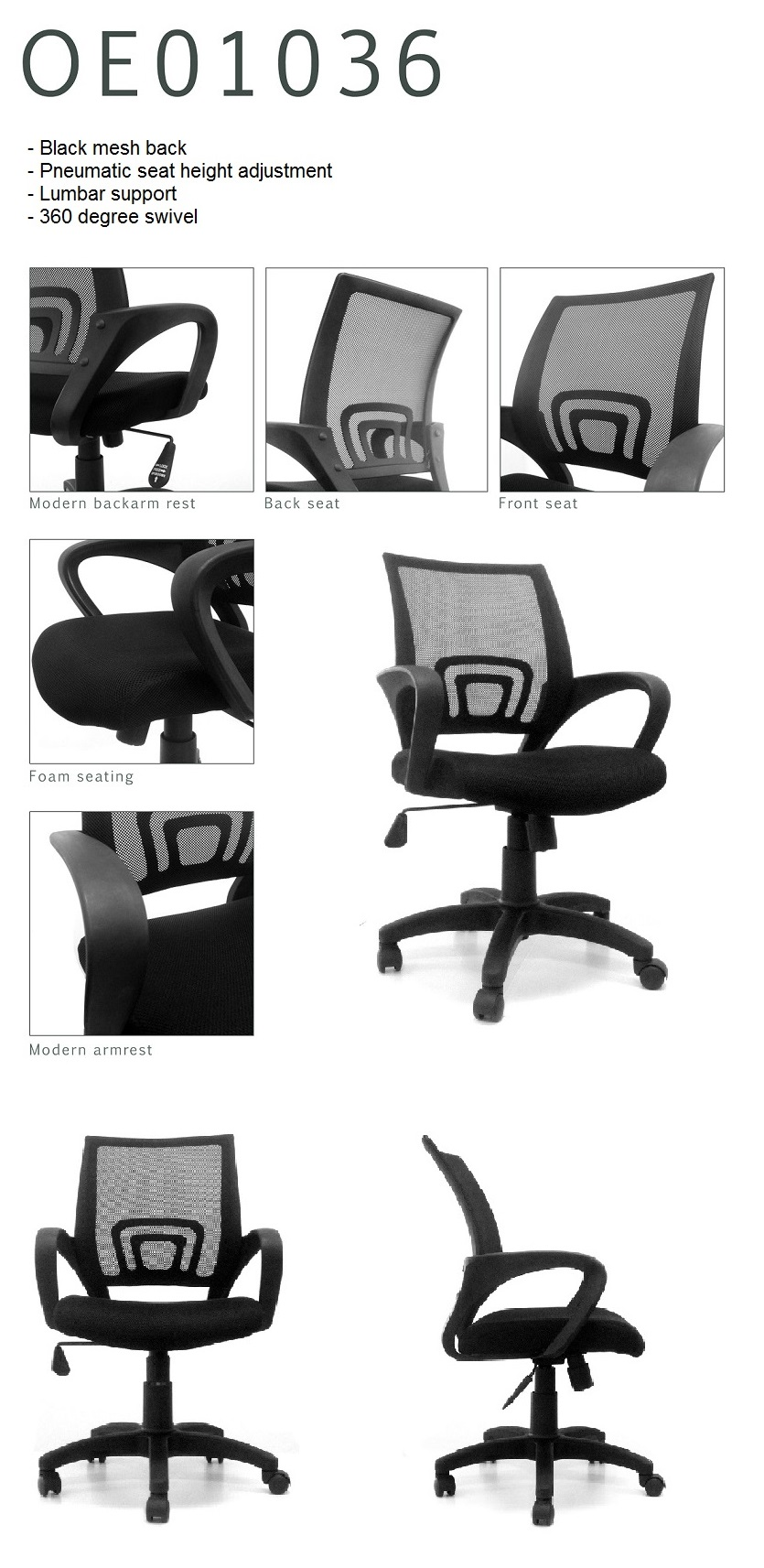 Office Renovation Promotion Win Office Chair