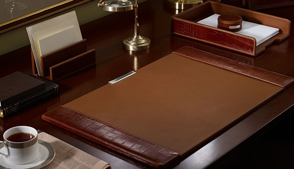 Office Renovation Singapore Leather Desk Pad, Leather Desk Pads, Leather Desk Blotter, Leath
