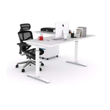L-Shape adjustable height table height adjustable table office furniture