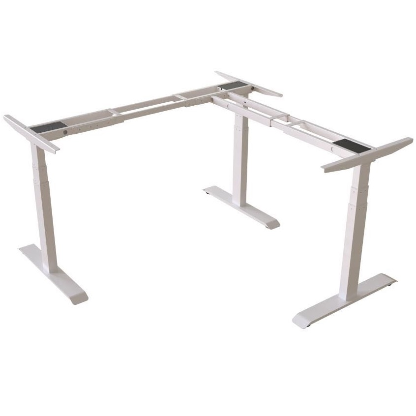 Triple Motor adjustable height table height adjustable table office furniture