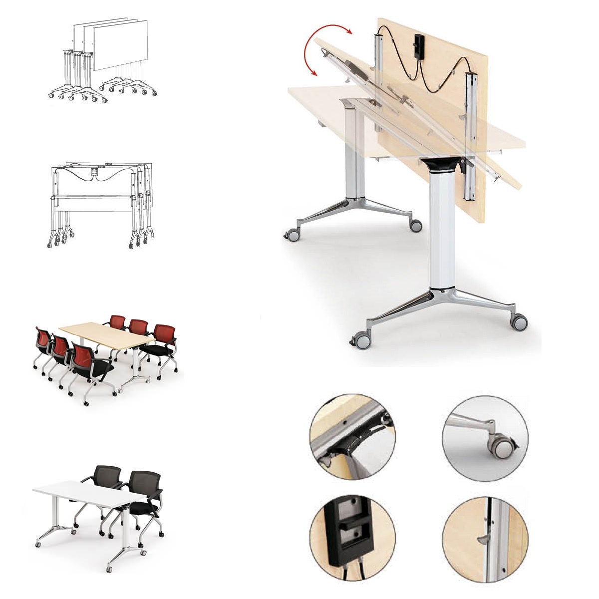 Image result for foldable desk in office