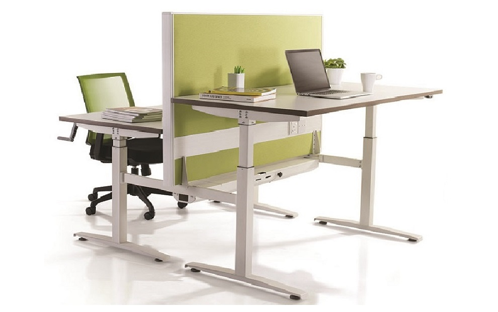 Rectangle-manual-adjustable-height-table-height-adjustable-table-office-furniture-singapore