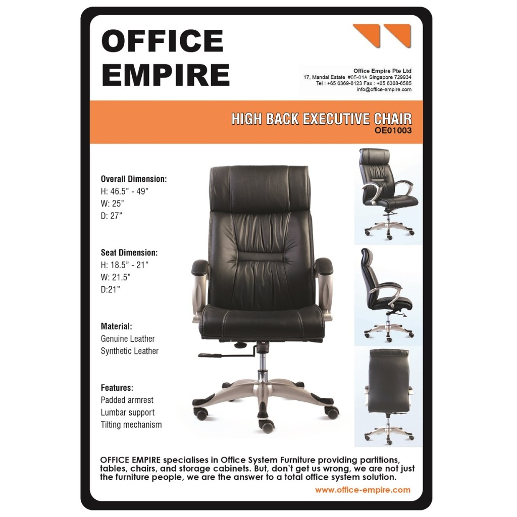 American Office Furniture office fuiture singapore office chairs singapore oe01003