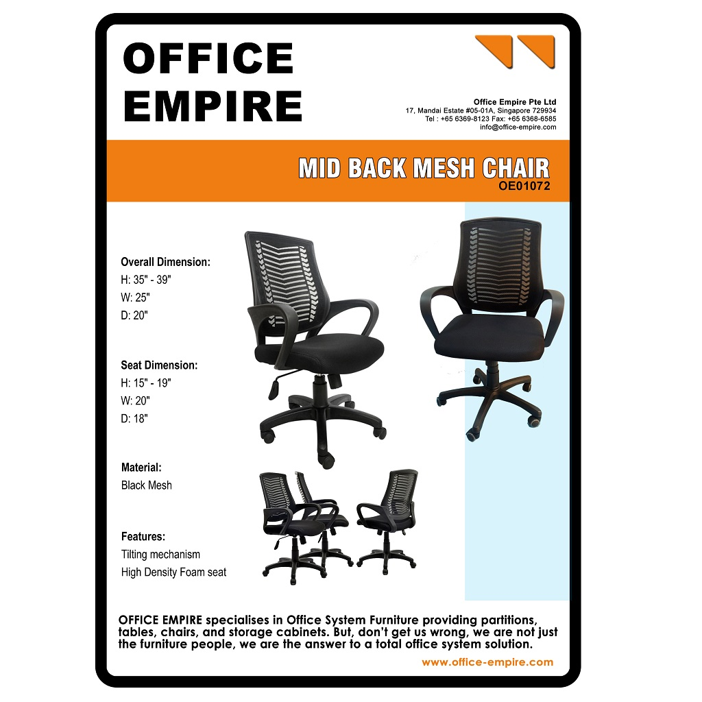 Office Chair Wheels Singapore office-furniture-singapore-office-chairs-singapore-oe01072