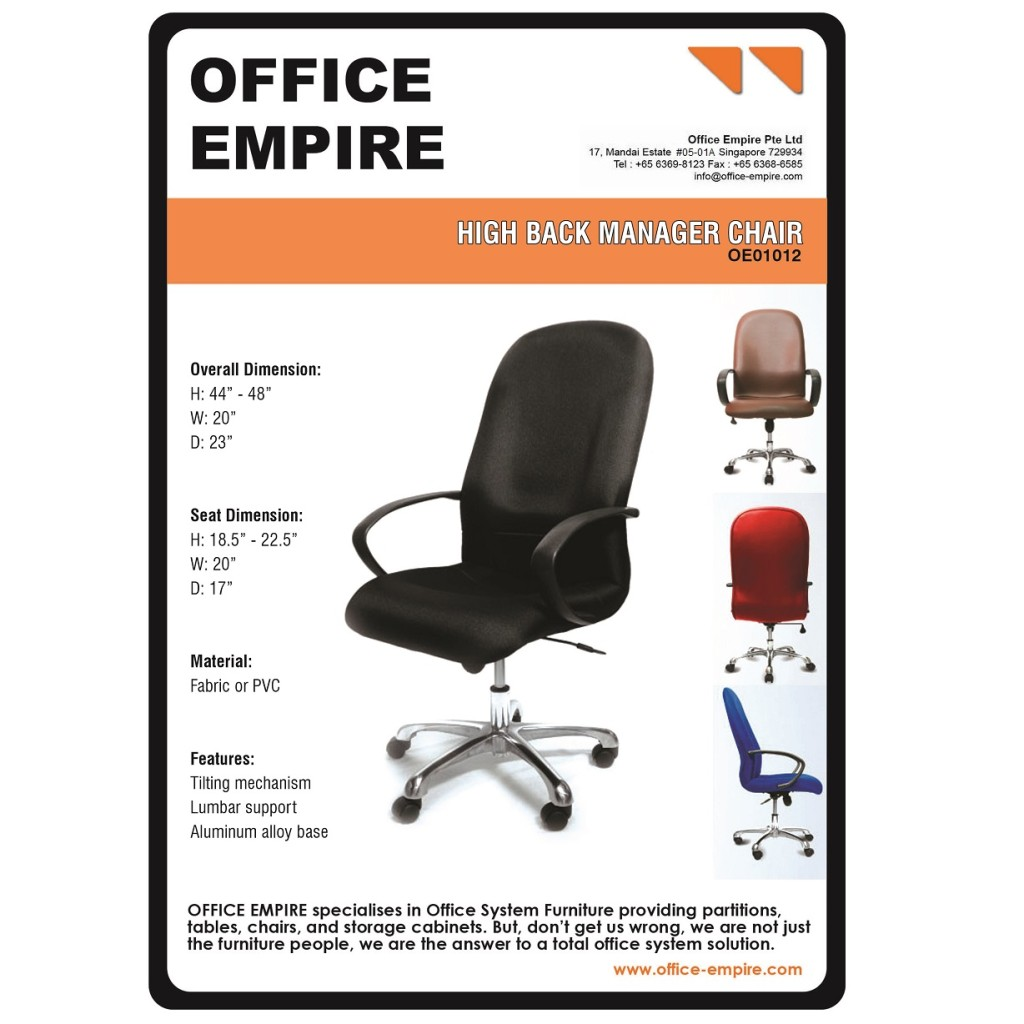 office furniture singapore office chairs singapore oe01012