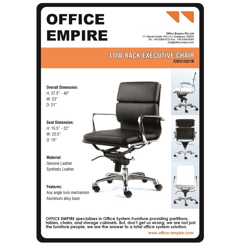 office furniture singapore office chairs singapore oe01021B