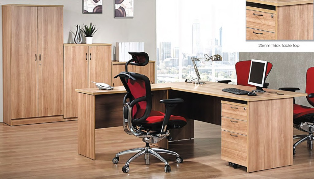 office furniture singapore office desk Deluxe Series