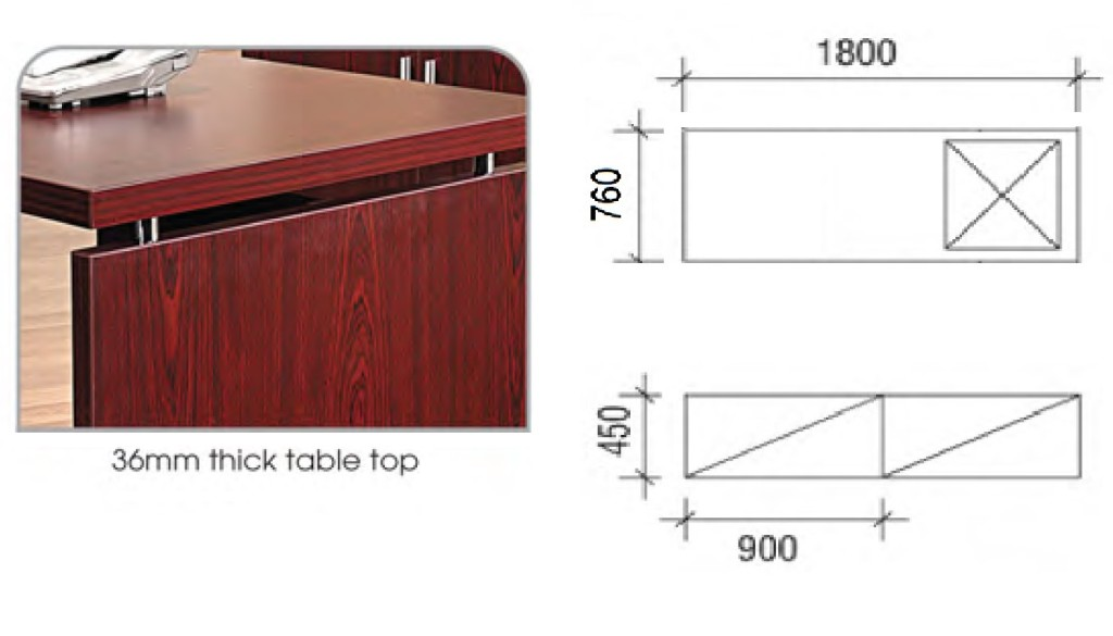 office furniture singapore office desk Elegance Series 1