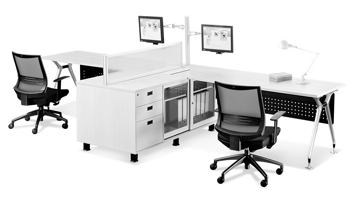office furniture singapore office partition 28mm Office Cubicle 11 (2)