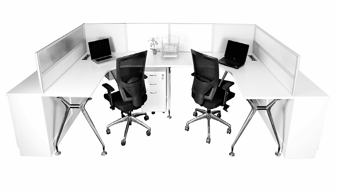 office furniture singapore office partition 28mm Office Cubicle 21 (2)
