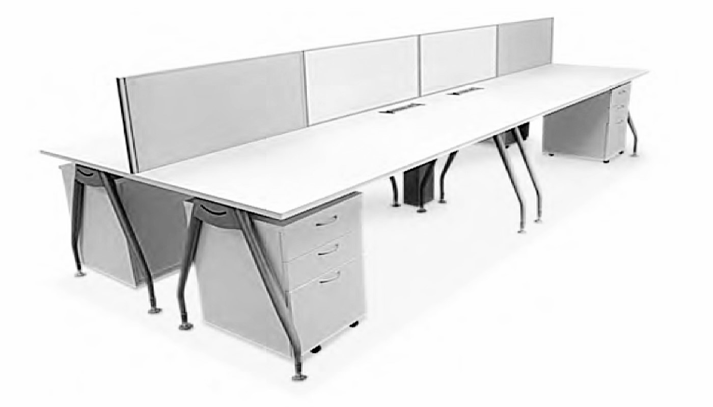 office furniture singapore office partition 28mm Office Cubicle 22 (2)