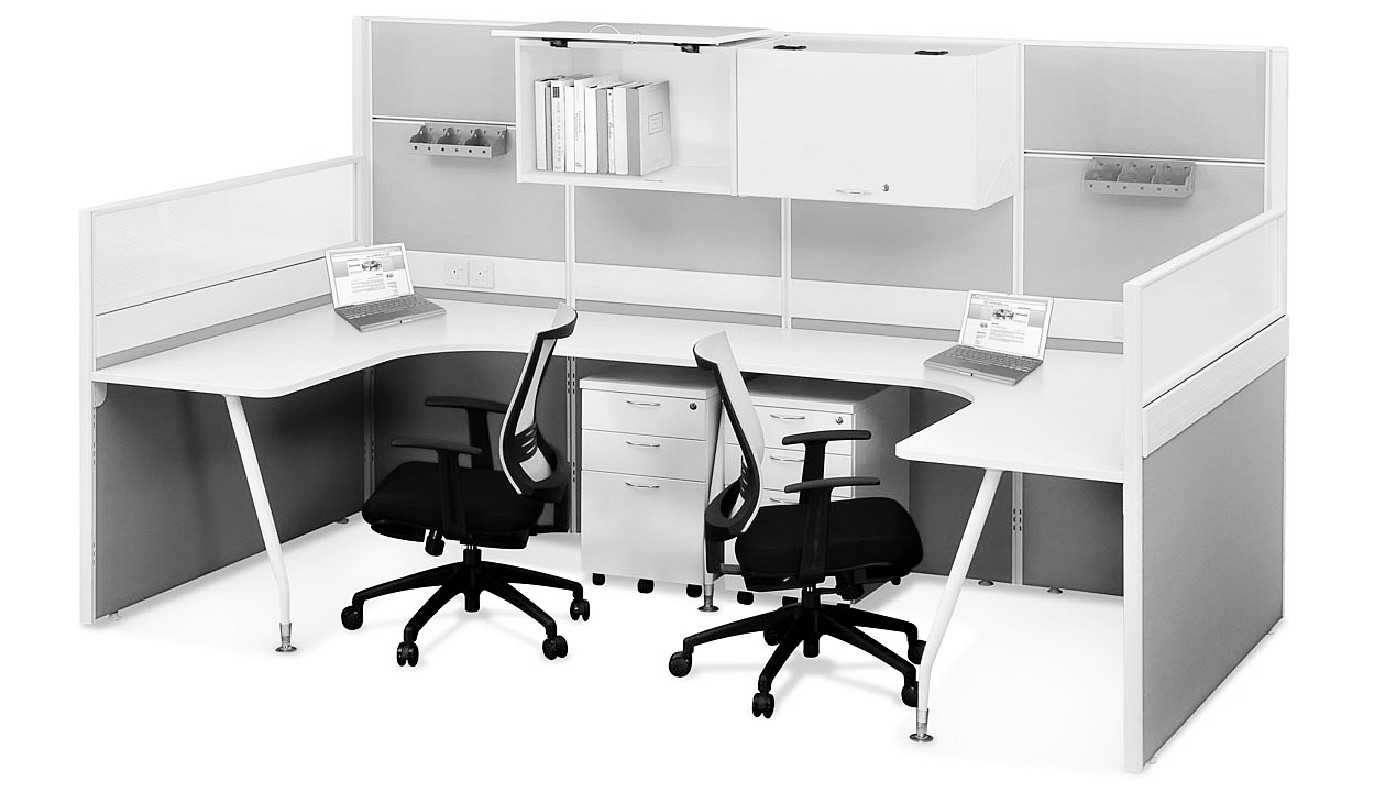office furniture singapore office partition 28mm Office Cubicle 28 (2)