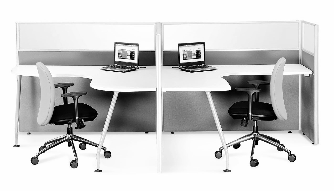 office furniture singapore office partition 28mm Office Cubicle 29 (2)