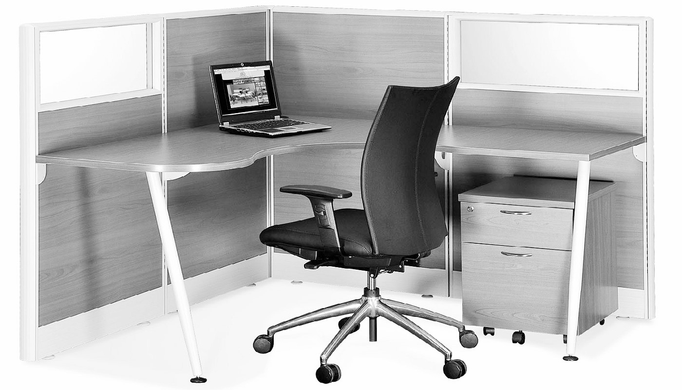 office furniture singapore office partition 28mm Office Cubicle 34 (2)