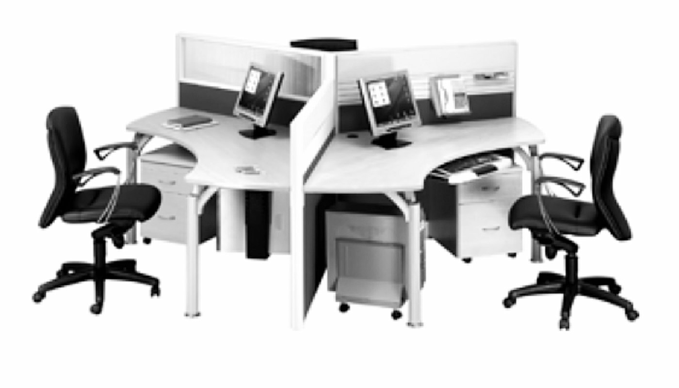office furniture singapore office partition 28mm Office Cubicle 36 (2)