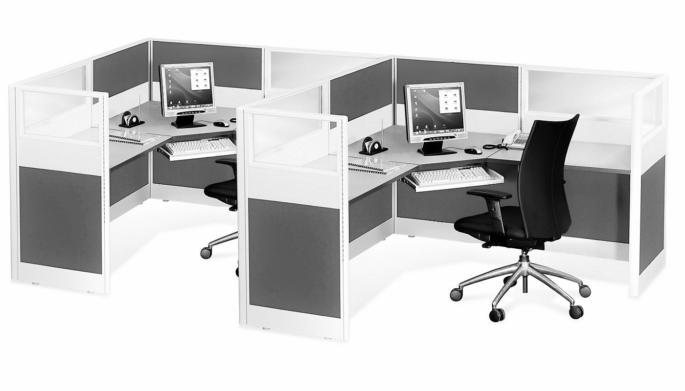 office furniture singapore office partition 28mm Office Cubicle 37 (2)