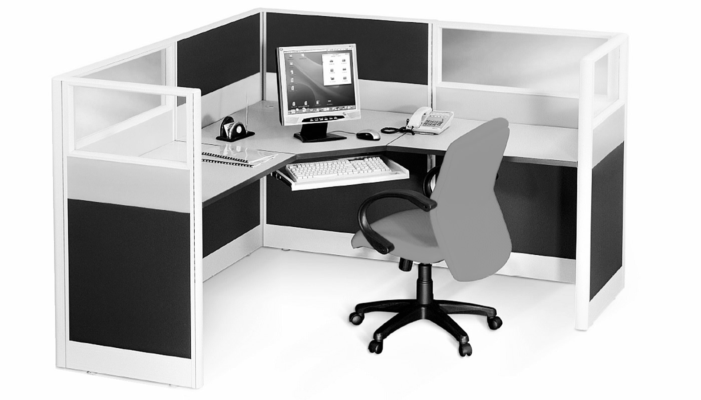 office furniture singapore office partition 28mm Office Cubicle 41 (2)