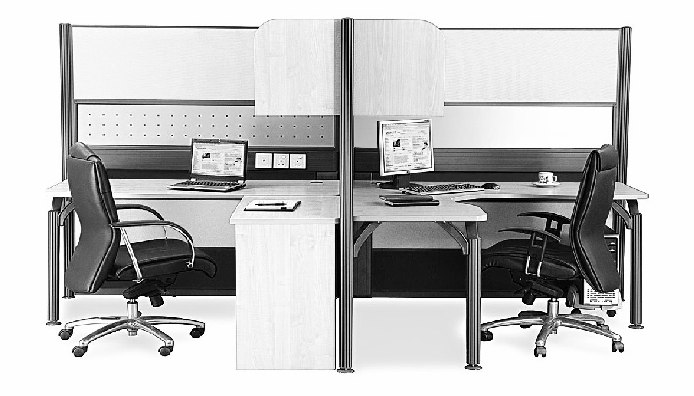 office furniture singapore office partition 28mm Office Cubicle 43 (2)