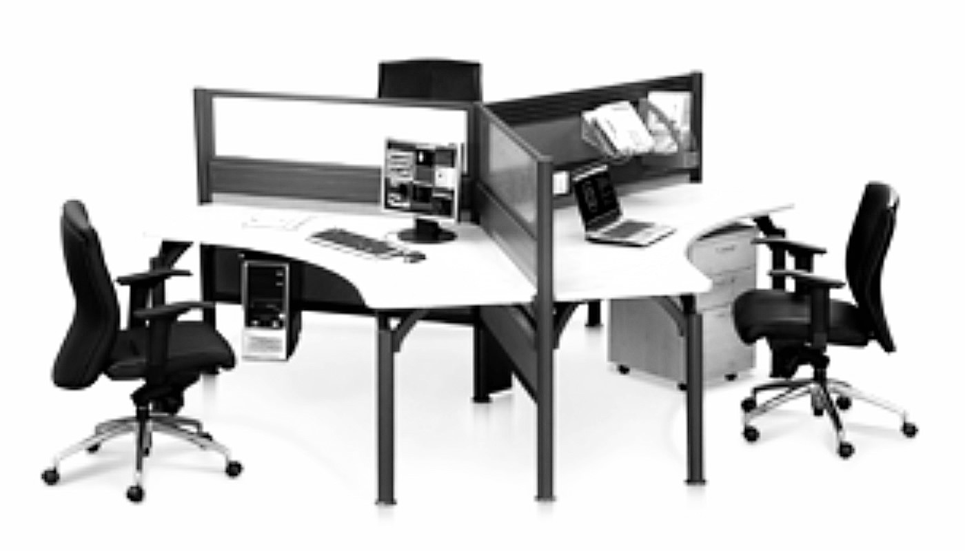 office furniture singapore office partition 28mm Office Cubicle 45 (2)