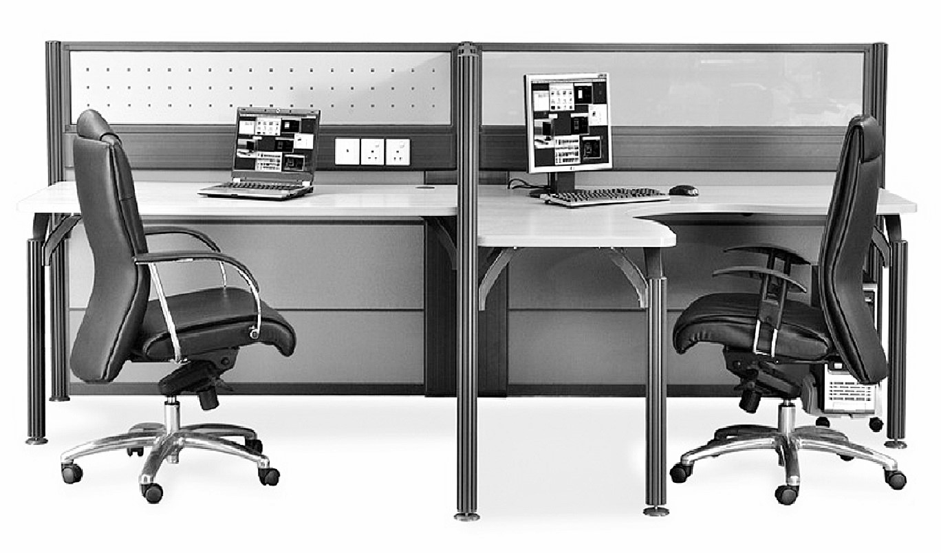 office furniture singapore office partition 28mm Office Cubicle 47 (2)