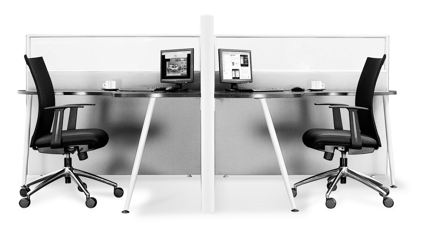 office furniture singapore office partition 28mm Office Cubicle 52 (2)